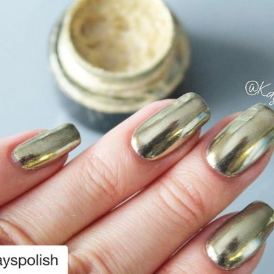 Deluxe GEL Gold Chrome Pure Powder Kit by Sparkle & Co.