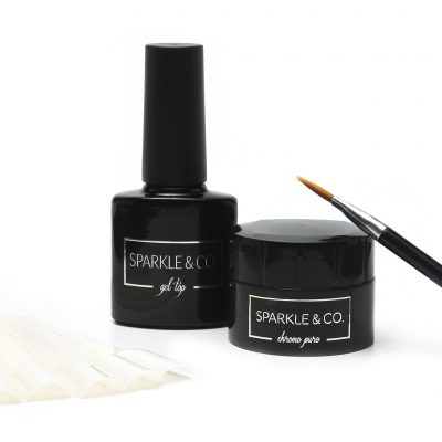 Chrome Pure Mirror Powder Basic Kit by Sparkle & Co.