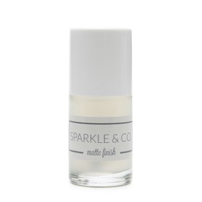 Sparkle & Co. Matte Finish (Regular Polish/Not Gel)