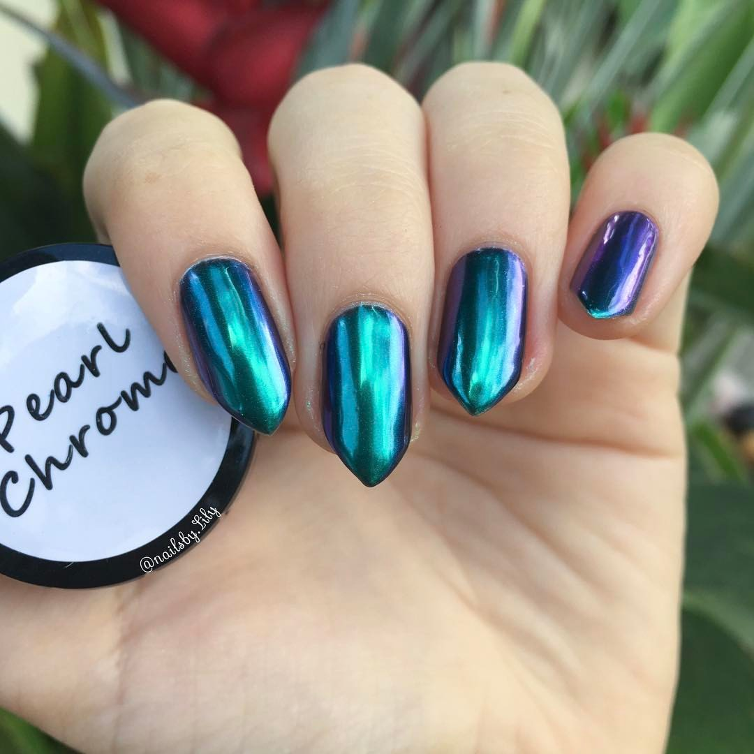 How To Use Chrome Nail Powder Without Gel: 3g (Powder Only)
