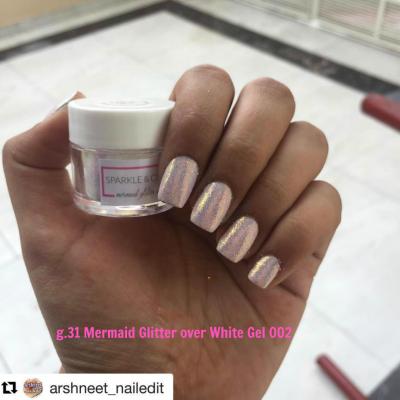 Sparkle & Co Mermaid Glitter 6g Jars - Choose Color