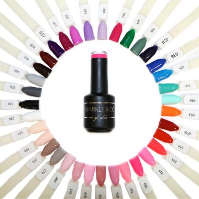 15ML Full Size Bottles: Gel Polish Starter Kit - Choose: With or Without Lamp