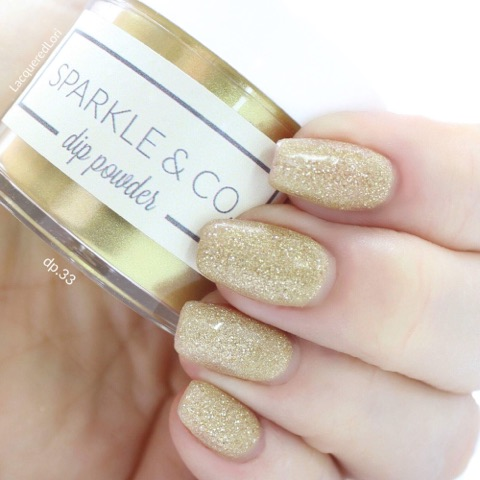 Sparkle Amp Co Dip Powders Dp 33 Champagne Toast