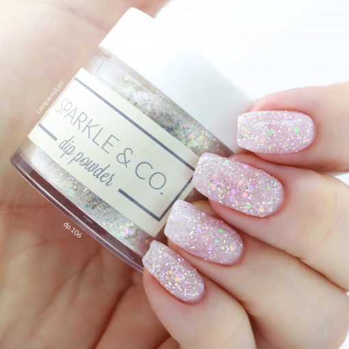 2e78813af Sparkle & Co. Dip Powders - dp.106 Glass Slippers - Sparkle and Co.