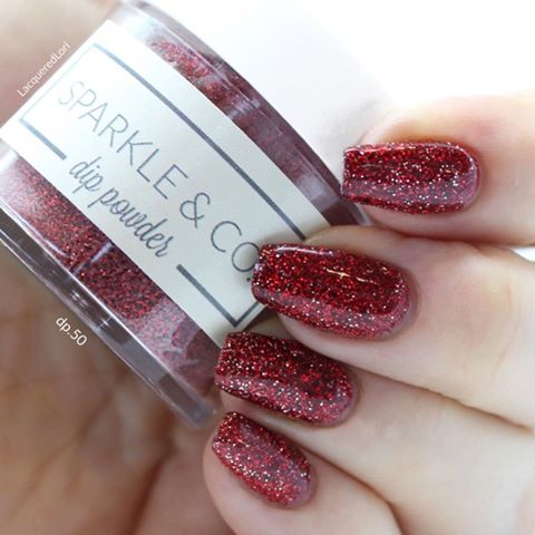 Dip Powders - dp.50 Ruby Slippers - Sparkle and Co.