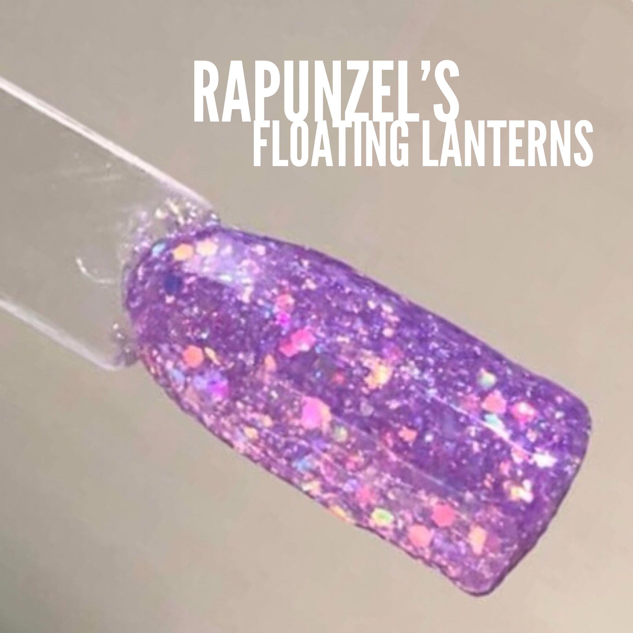 Rapunzel S Floating Lanterns Sparkle Co